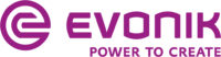 Evonik brand mark Deep Purple RGB 200x52